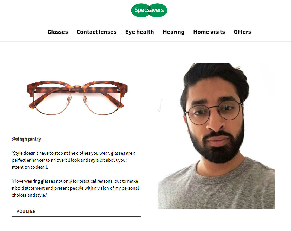 specsavers micro-influencer marketing