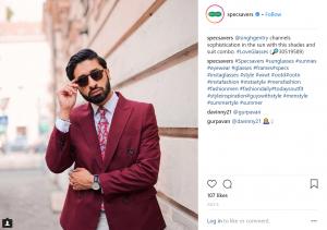 specsavers influencer instagram