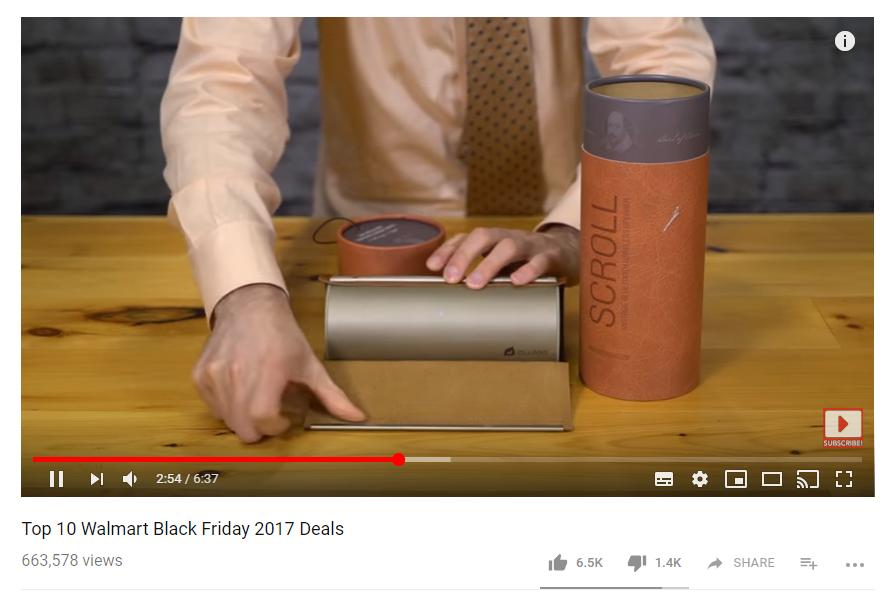 influencer youtube black friday