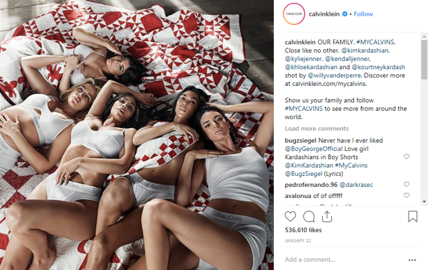 Calvin Klein Influencer Marketing Campaign