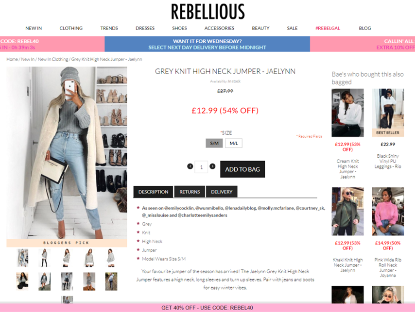 Rebellious - Product Page