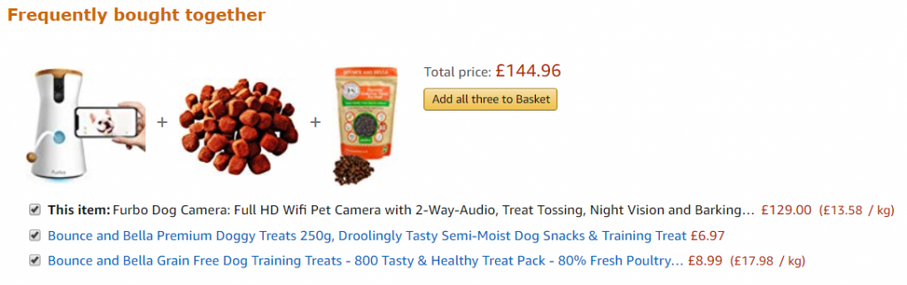 Amazon Product Recommendation Examples