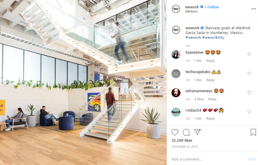 WeWork - Marketing Creativity and Innovation
