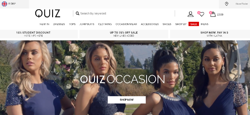 quiz - video marketing in eCommerce Homepage Design